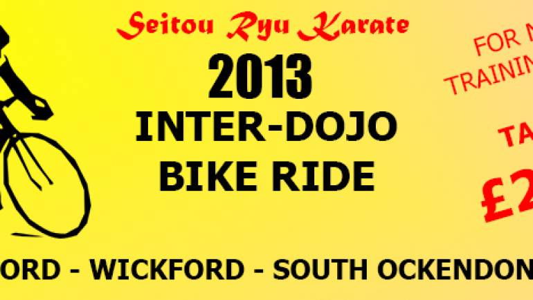 Inter-Dojo Bike Ride 2013
