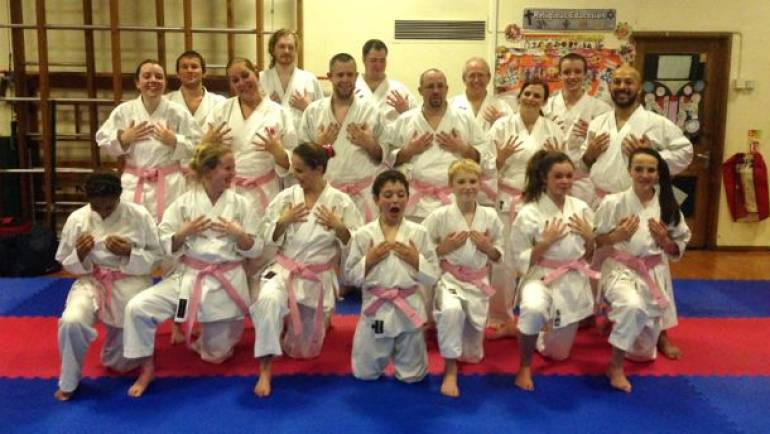 Pink Karate – Breast Cancer Awareness Class 2013