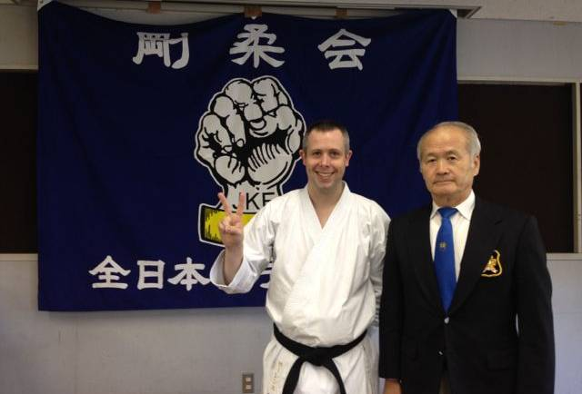 Sensei Martin passes grading in Japan