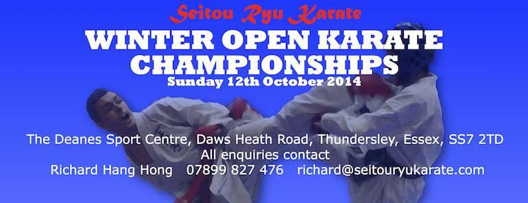 Location change for SRK Winter Open Championships