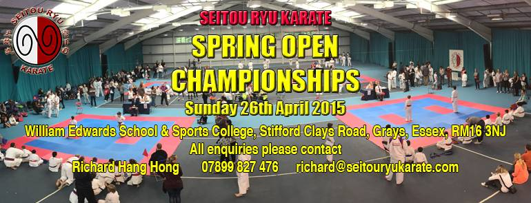 8th SRK Spring Open Championships