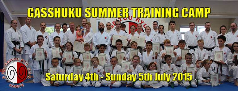 Gasshuku Summer Training Camp 2015