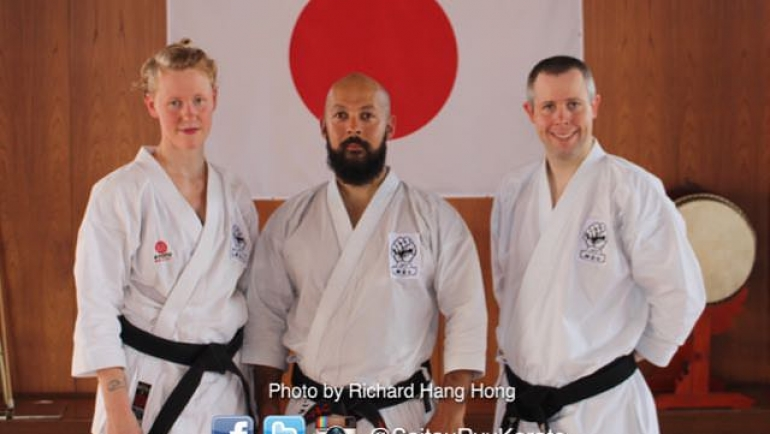 Grading Success in Japan for SRK instructors
