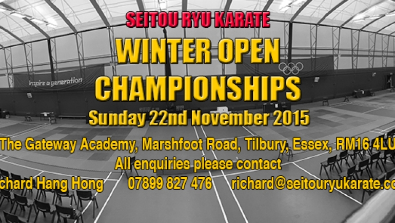 8th SRK Winter Open Championships