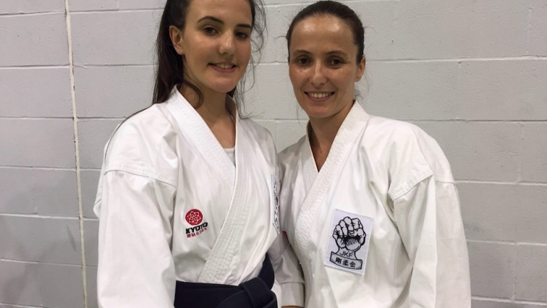 Mother and daughter grading success