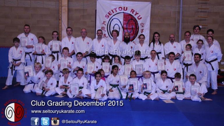 Grading Results: December 2015