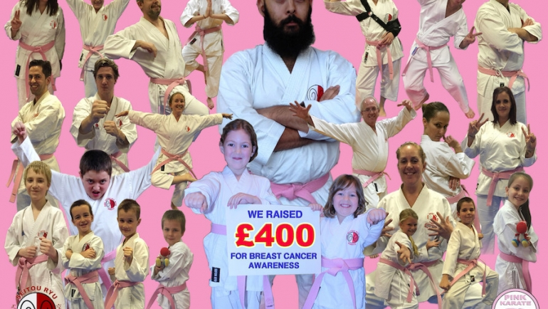 Pink Karate for Breast Cancer Awareness 2015