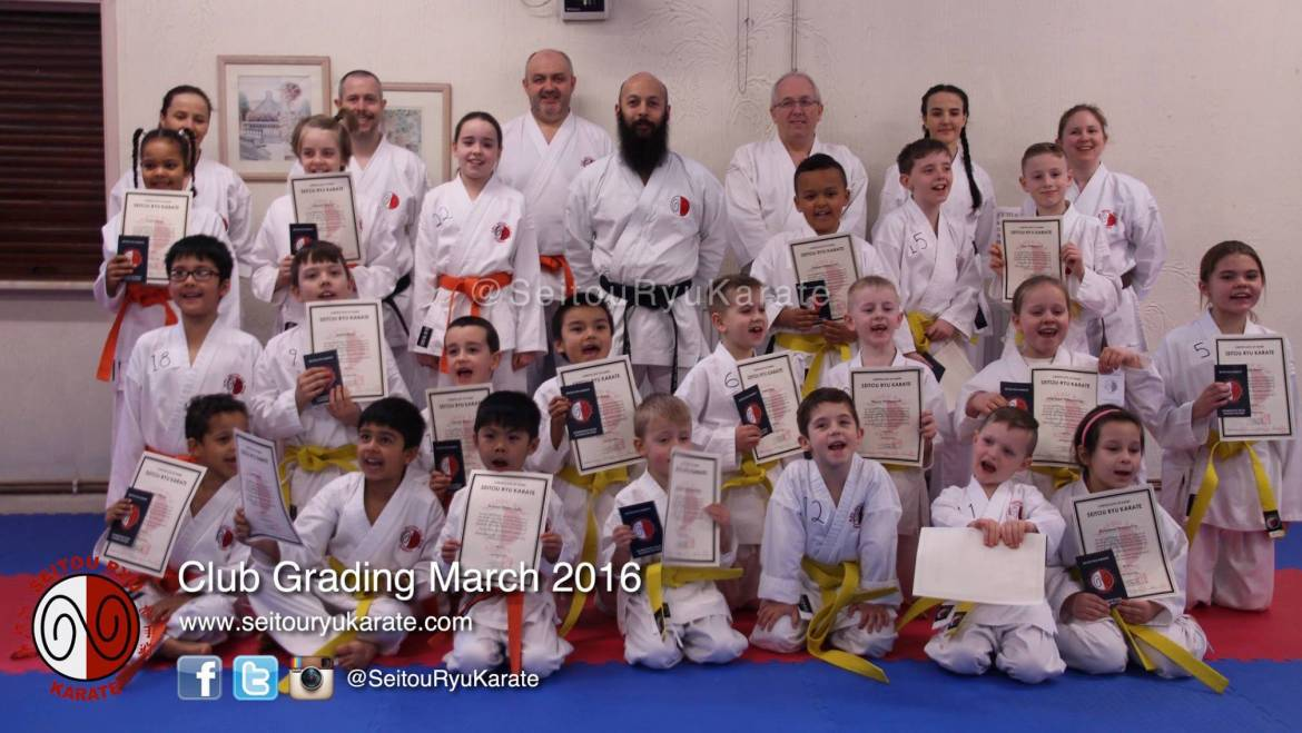 Grading Results: March 2016