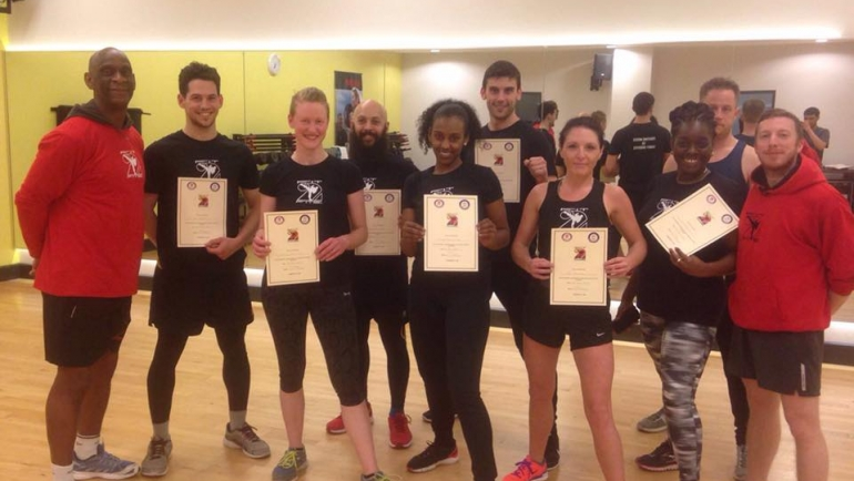 Fit2Fite: Fighting Moves to Funky Grooves