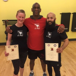 Fit2Fite new instructors Richard & Caroline Hang Hong