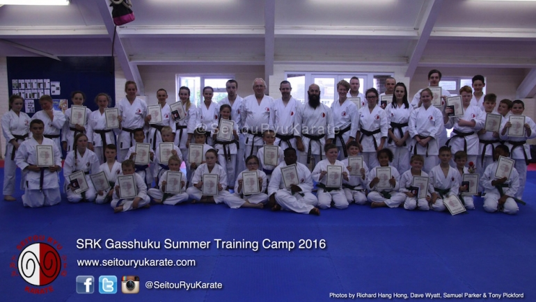 Grading Results: Gasshuku Summer Camp