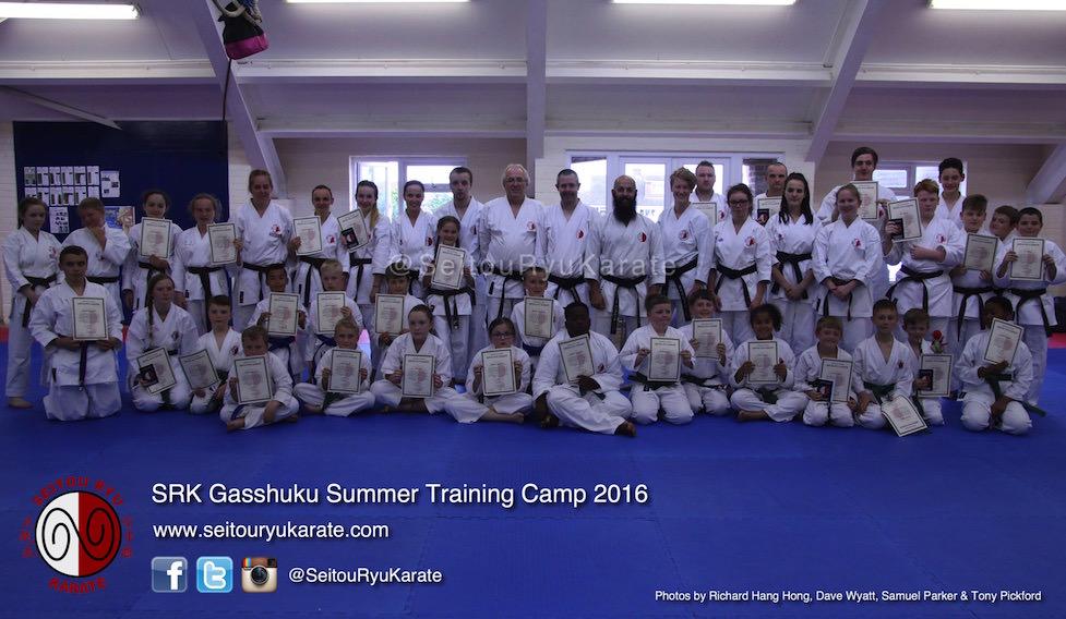 Grading Results: Gasshuku Summer Camp