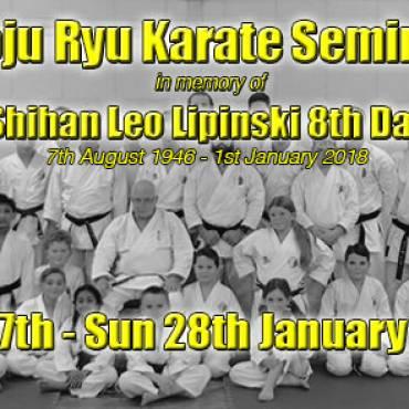Goju Ryu Karate Seminar in Memory of Shihan Leo Lipinski