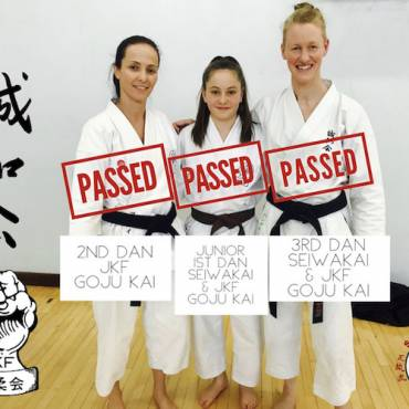 Seiwakai & JKF Goju Kai Grading Success